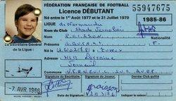 STADE VERNOLIEN - SAISON 1985/1986 - RETOUR DANS LE PASSE - STADE VERNOLIEN FOOTBALL