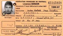 STADE VERNOLIEN - SAISON 1986/1987 - RETOUR DANS LE PASSE - STADE VERNOLIEN FOOTBALL