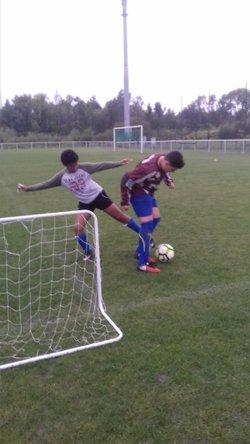 entrainement U14/15  Lundi 25/10/2017 - TERGNIER F.C. U14/U15