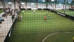 17/01/2018 - L'entraînement des U15 Foot en salle - Trangé Football Club