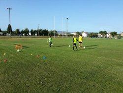 Entrainement des gardiens U13 - TRAPEL PENNAUTIER FOOTBALL CLUB