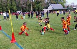 Les U6-U9 s'amusent à Pleumeur Bodou - Trégor Football Club
