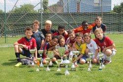 Coupes de Tournoi - U11 FC LAMBERSART 2014/2015