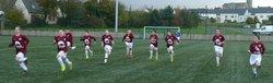 U15 match AS St-Hervé - UF YFFINIAC
