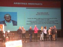 Soirée récompenses arbitres éducateurs méritants - UNAF Moselle