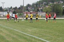 Frotey / Colombe U 18 - FC 4 Rivières . Défaite 3 a 1 - US FROTEY LES VESOUL