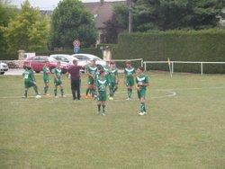 U15 2015, le premier match - UNION SPORTIVE ARCEY FOOTBALL
