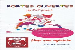 Journées Portes ouvertes FOOTBALL FEMININ