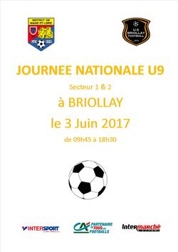 JNU9 à Briollay - US BRIOLLAY FOOT