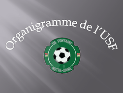 Nouvel Organigramme U.S.F SAISON 2017-2018
