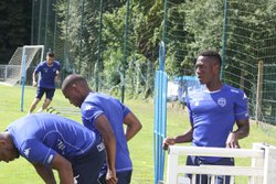 ESTAC  TROYES Ligue 2 EN STAGE A GOUVIEUX - US GOUVIEUX