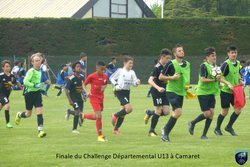 Finale du Challenge Départemental U13 à Camaret - Union Sportive Grès Orange Sud (club de football)