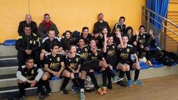 U15 remporte le tournoi en salle de Vaison