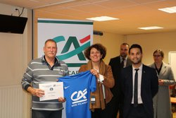 Récompenses pour les U15(A)-Vainqueurs du Championnat de l'OISE-2016/2017 - Us Meru Sandricourt
