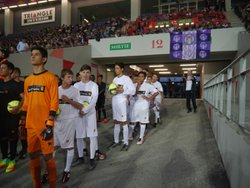Les U15 au Stadium de Toulouse - Union Sportive Aubietaine