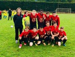 U13 Tournoi  au FC DENTELLES dans le Vaucluse - Union Sportive Châteauneuf Aubignosc Peipin