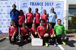 PARTIIPATION DE LA SECTION FEMININE A LA DANONE CUP