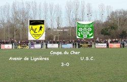 19.02.2017 ~ Coupe du Cher ~ Avenir de Lignières - U.S.C. ~ 3-0 - Union Sportive de Châteaumeillant