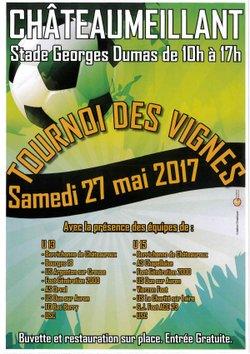 27.05.2017 ~ Tournoi des Vignes 2017 ~ 1/2 ~ Merci !!! - Union Sportive de Châteaumeillant