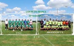 20.08.2017 ~ Coupe de France ~ U.S.C. - ARGENTON ~ 6-5 - Union Sportive de Châteaumeillant