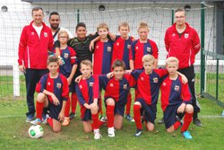 1er match de nos U12 - union sportive football Armbouts Cappel