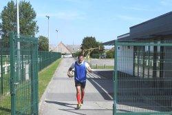 entrainement du 9 aout - union sportive football Armbouts Cappel