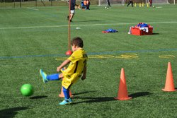 SEANCE  D ENTRAINEMENT U 7 / U 9 - UNION SPORTIVE LE POINCONNET FOOTBALL