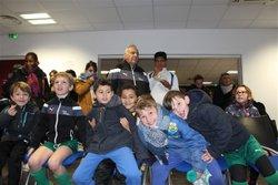 Fête de Noël - Troisième partie - Goûter et Tombola - Union Sportive de Mandelieu la Napoule Football