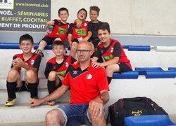 Les U9 au tournoi de Domérat (10/6/18) - Union Sportive des Martres-de-Veyre Football