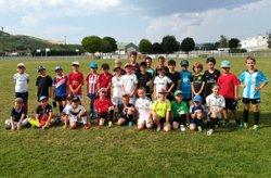 Clôture de la saison des U8/U9 - Union Sportive des Martres-de-Veyre Football