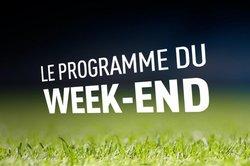 Programme du week-end à l'USR :