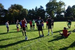 les U18 s'entrainaient à Sauxillanges 11 10 2017 - Union Sportive Val de Couzes Chambon