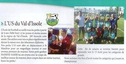 Magnifique victoire de nos petits u 10 au tournoi de st mandrier en juin 2016 - Union Sportive du Val d'Issole