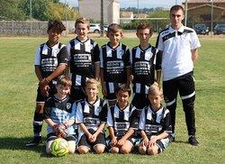 U11 trois vs Ancone - samedi 23 septembre 2017 - Union Sportive Vallée du Jabron