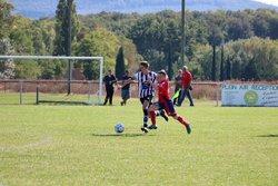 U17 un vs Eyrieux - samedi 23 septembre 2017 - Union Sportive Vallée du Jabron