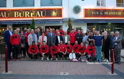"""Ma20/09/16 Réception PARTENAIRES, Comité Directeur et Groupe DH """"AU BUREAU"""" - VIERZON FOOTBALL CLUB"""