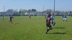 Match des U17F A (Groupe Stéphane) VGA Bohars contre Concarneau (14/04/2018) à Concarneau. - VGABohars Féminines