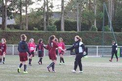 Match des U17F VGA Bohars contre Plougastel (15/10/2016) - VGABohars Féminines