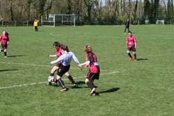 Match des U17F VGA Bohars contre Plougastel (08/04/2017) - VGABohars Féminines