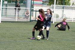 Match des U13F VGA Bohars contre Scaër (22/04/2017) au synthétique - VGABohars Féminines