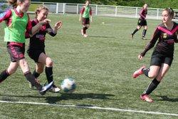Match des U15F VGA Bohars contre Plougastel (13/05/2017) au synthétique - VGABohars Féminines