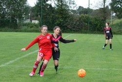 Match amical des U13F VGA Bohars contre  Saint-Renan (09/09/2017) à Saint-Renan - VGABohars Féminines