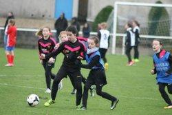 Match des U11F VGA Bohars contre Cléder (10/02/2018) à Cléder. - VGABohars Féminines