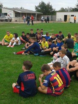 école de foot EVSABB - 6 Septembre