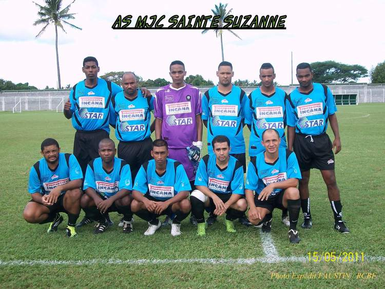 Les Séniors de l'AS MJC Sainte Suzanne