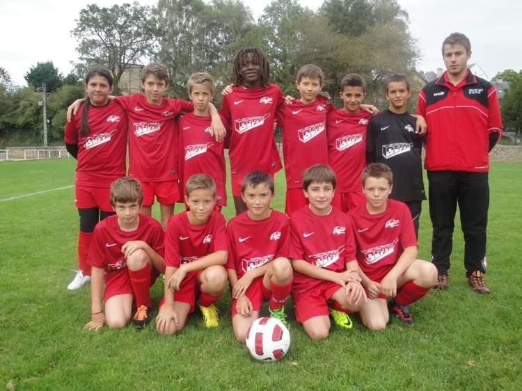U13 à 8 (nés en 2001 - 2002)