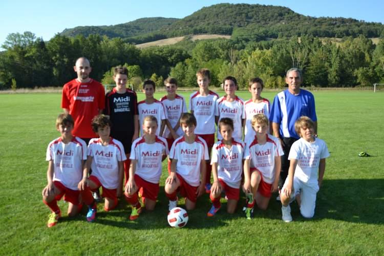 U13 à 9 équipe 1 (nés en 2000-2001)