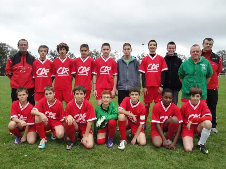 U15 équipe 2 (nés en 1998-99)
