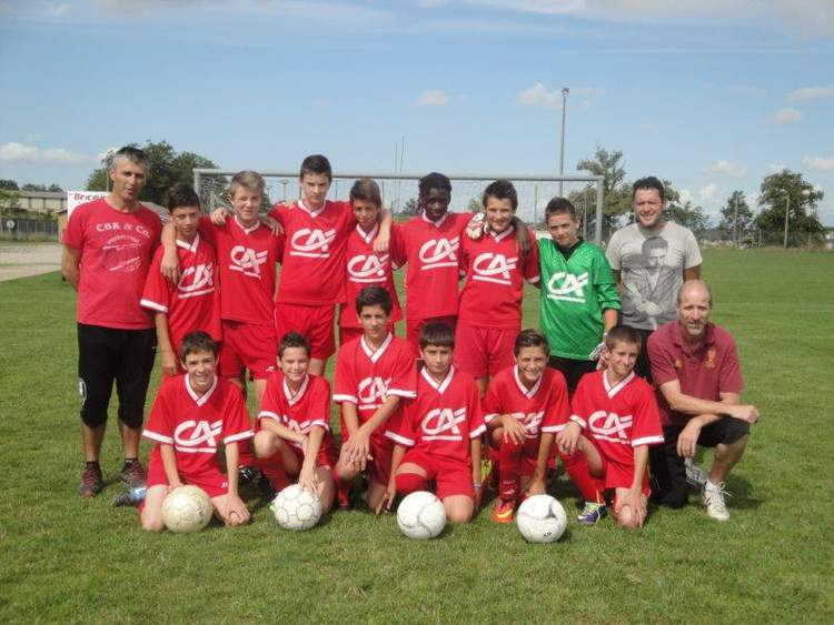 U15 équipe 2 (nés en 2000 - 2001)