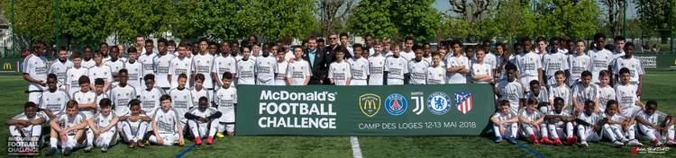 MacDonald's FOOTBALL CHALLENGE CAMP DES LOGES MAI 2018. - FONTENAY EN PARISIS FC - Erwan75.Footeo.com